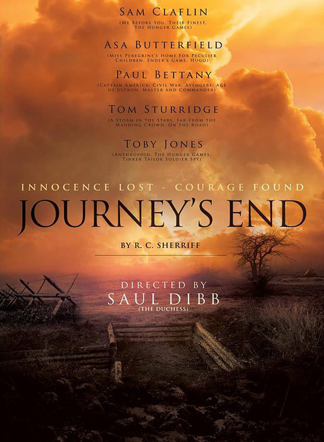 Journeys End poster - Journey's End (Movie Review)
