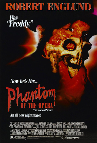Phantom of opera 1989 poster 01 - Interview - Jill Schoelen
