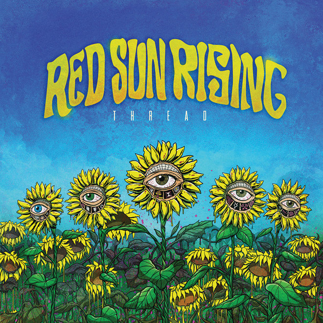 THREAD ALBUM COVER red sun rising - Red Sun Rising - Thread (Album Review)