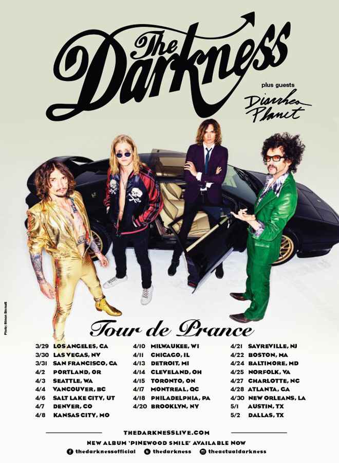 The Darkness Tour de Prance - Interview - Frankie Poullain of The Darkness