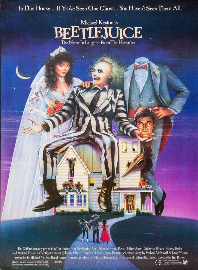 beetle poster - Beetlejuice - 30 Years Of The Ghost With The Most