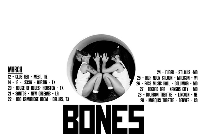 bones tour  - Interview - Rosie Bones of BONES