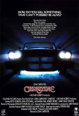 christine movie poster 1983 1020489472 - Interview - Johannes Roberts