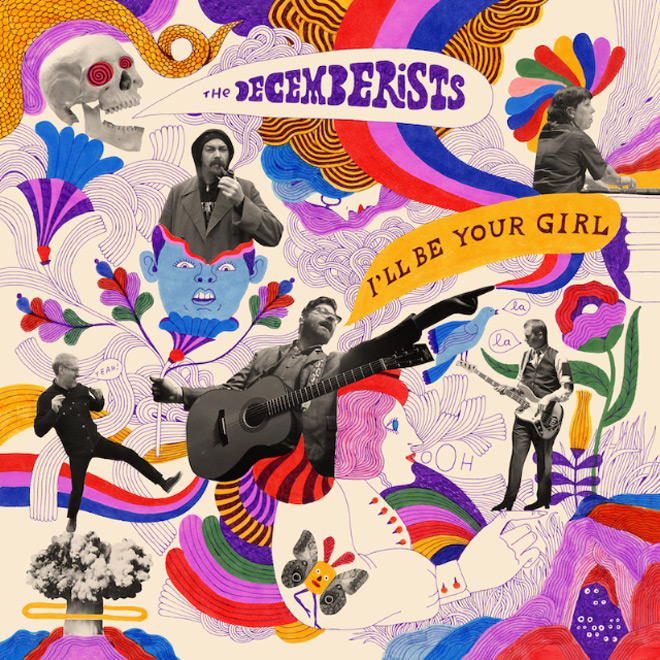 dec cover - The Decemberists - I'll Be Your Girl (Album Review)