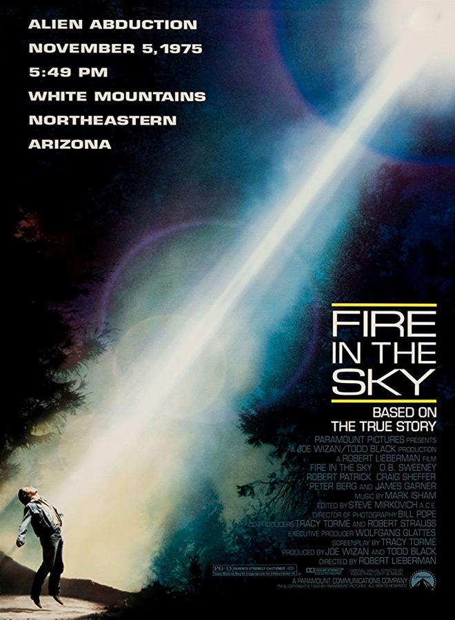 fire poster - Fire in the Sky - 25 Years of Close Encounters