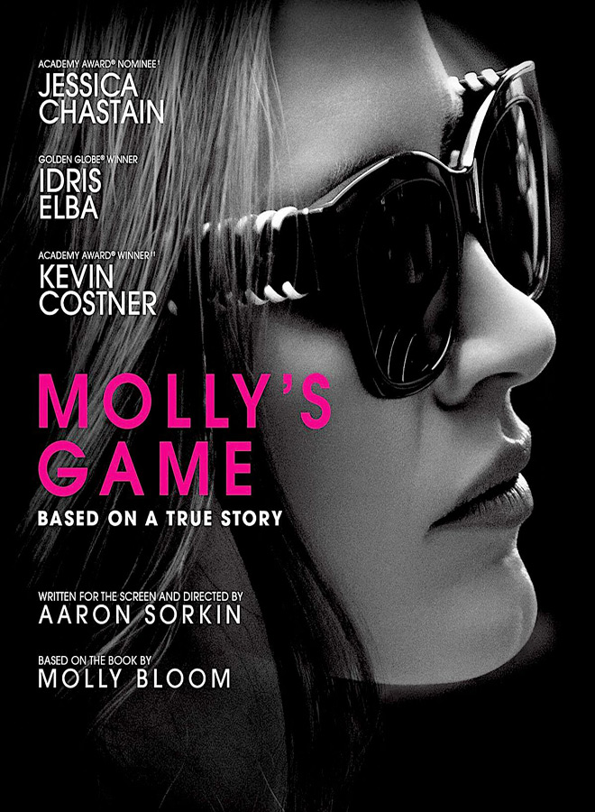 molly poster - Molly's Game (Movie Review)