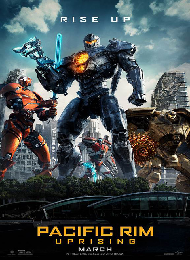 pacific poster - Pacific Rim Uprising (Movie Review)