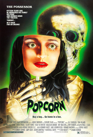 popcorn movie poster - Interview - Jill Schoelen
