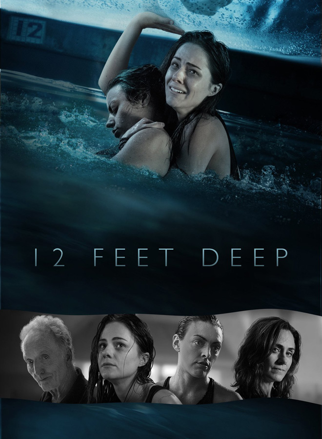 12 feet deep poster - 12 Feet Deep (Movie Review)