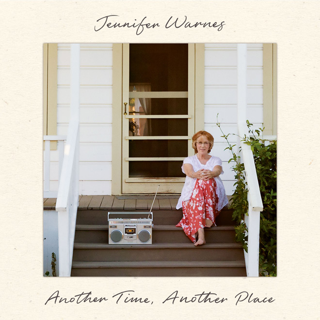 Jennifer Warnes album cover - Jennifer Warnes - Another Time, Another Place (Album Review)