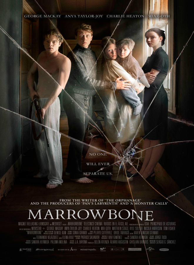 Marrowbone poster - Marrowbone (Movie Review)