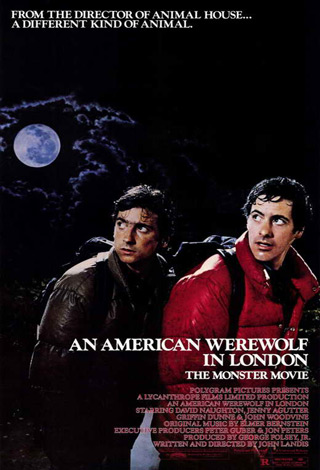 an american werewolf in london movie poster 1981 mini - Interview - Jeremy Dyson & Andy Nyman Talk Ghost Stories