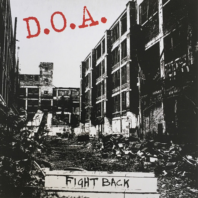 doa fight back 1 - D.O.A. - Fight Back (Album Review)