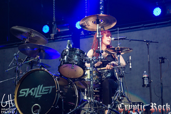 Interview - Jen Ledger of Skillet - Cryptic Rock