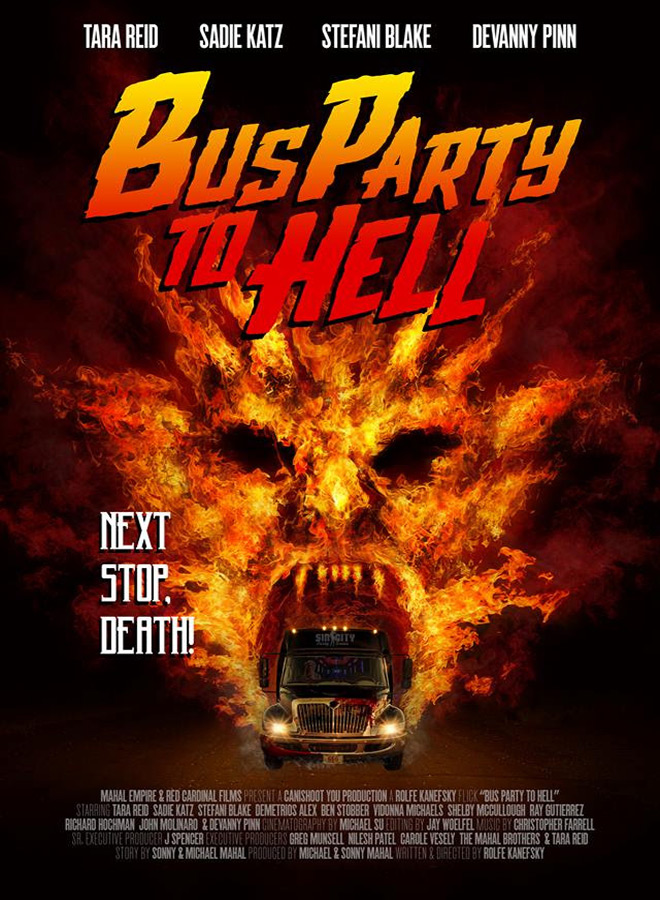 party poster - Party Bus to Hell (Movie Review)