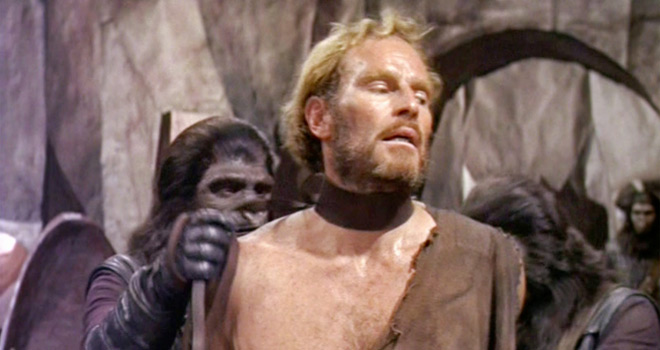 planet 1 - Planet of the Apes - A Groundbreaking Sci-Fi Odyssey 50 Years later