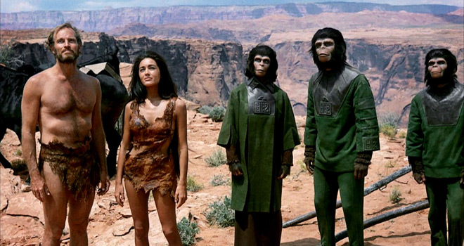 planet 2 - Planet of the Apes - A Groundbreaking Sci-Fi Odyssey 50 Years later