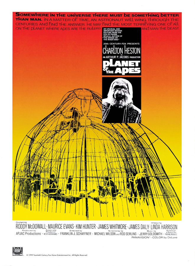 planet apes poster - Planet of the Apes - A Groundbreaking Sci-Fi Odyssey 50 Years later
