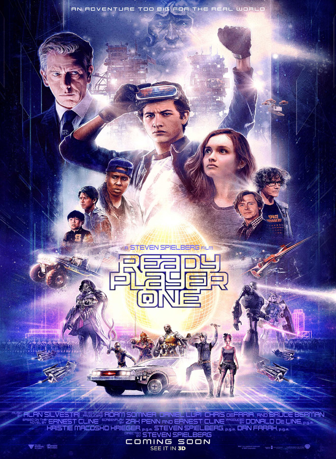 readyplayerone - Ready Player One (Movie Review)