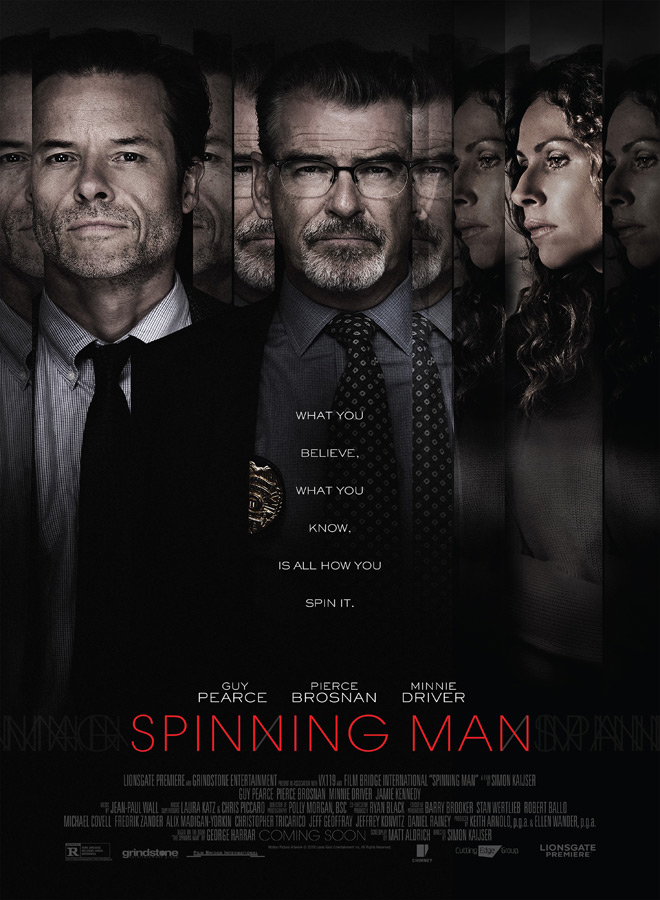 spinning poster - Spinning Man (Movie Review)