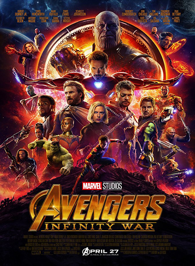 avengers poster - Avengers: Infinity War (Movie Review)