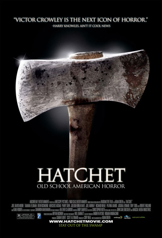 hatchet poster - Interview - Parry Shen