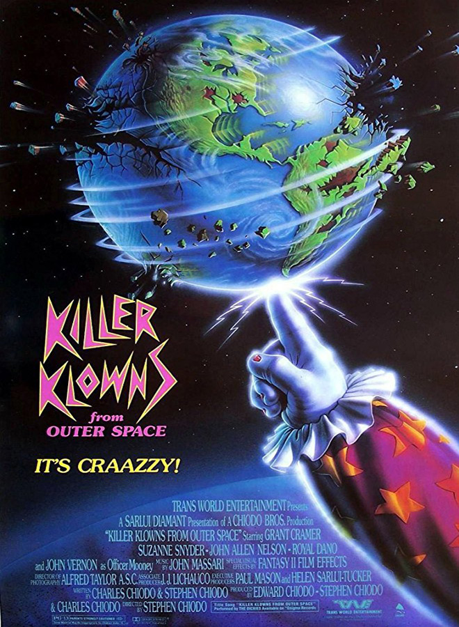 killer klowns poster - Killer Klowns from Outer Space - 30 Years Intergalactic Horror