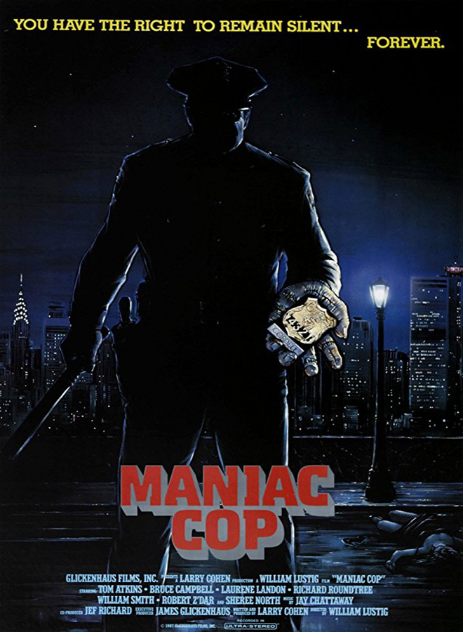 manic cop poster - Maniac Cop - Upholding The Law 30 Years Later