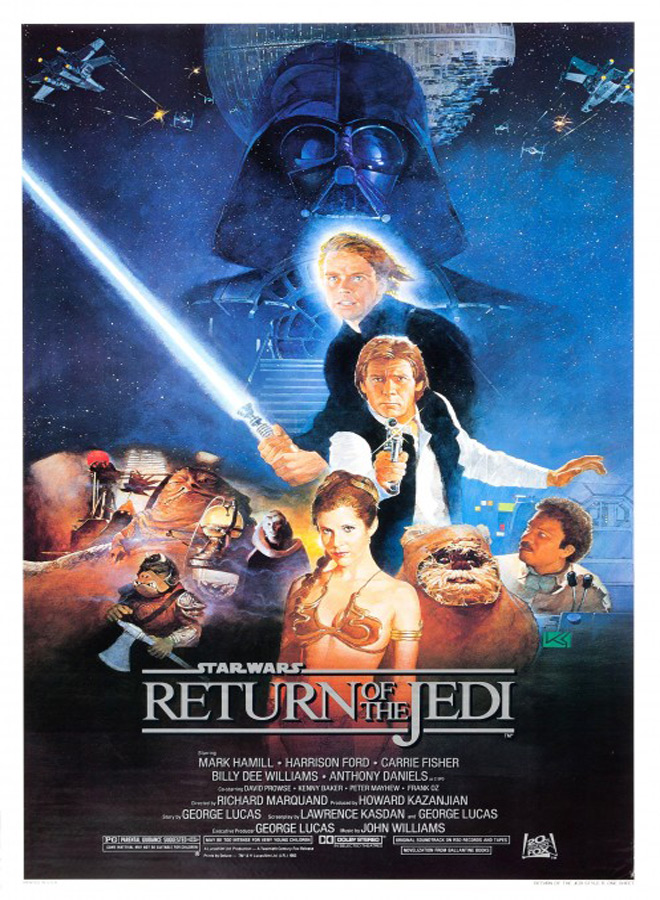 return poster - Star Wars: Return of the Jedi 35 Years Later