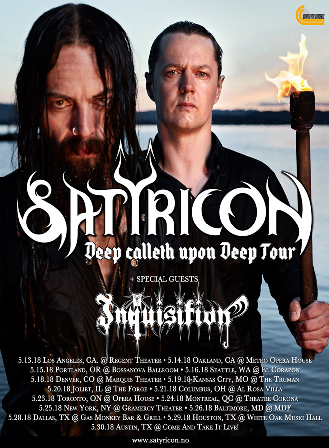 satyr 1 - Interview - Frost of Satyricon