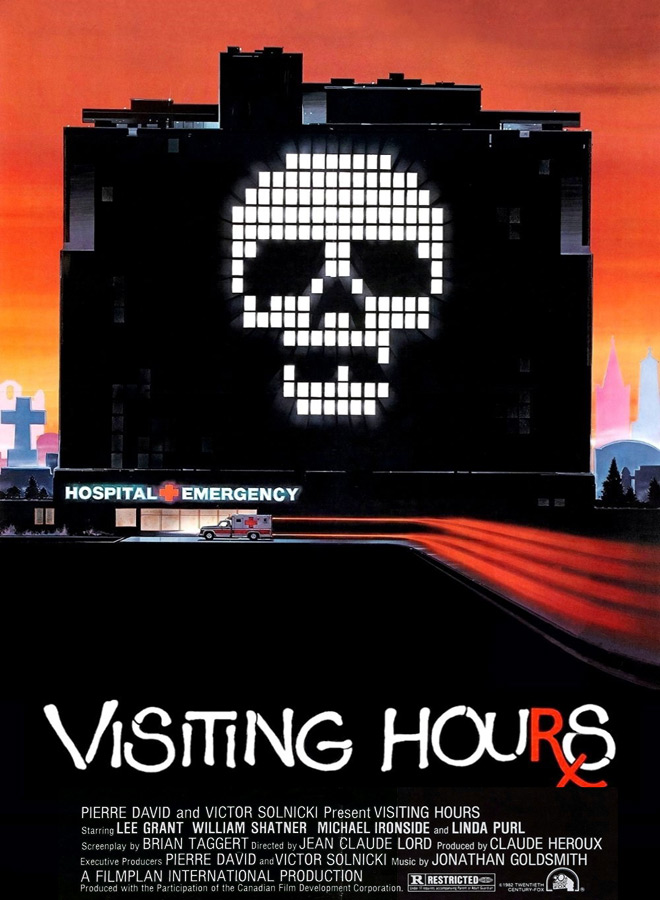 visiting hours poster - This Week in Horror Movie History - Visiting Hours (1982)
