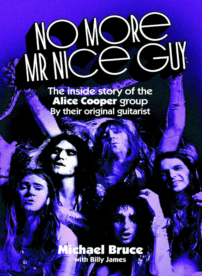 michael book - Interview - Michael Bruce of Alice Cooper Group
