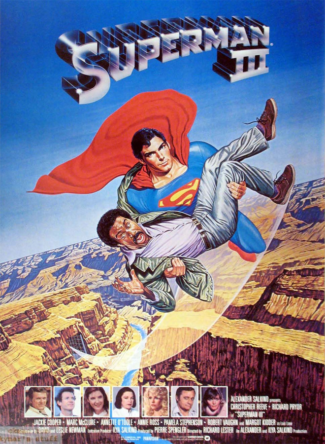 superman 3 poster - Superman III 35 Years Later