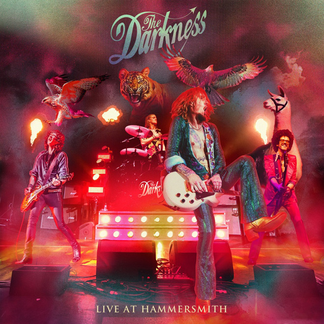 the darkness cover - The Darkness - Live At Hammersmith (Album Review)