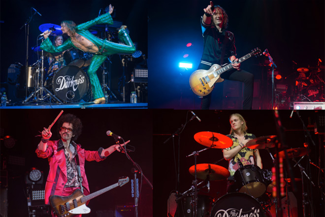 the darkness live - The Darkness - Live At Hammersmith (Album Review)
