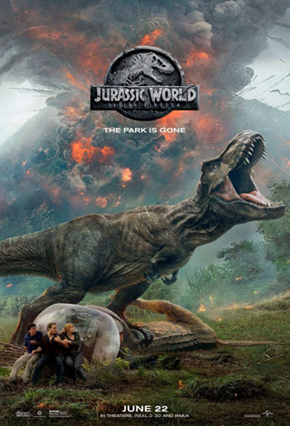 Jurassic World Fallen Kingdom 2018 movie poster - Interview - Patrick Simmons of The Doobie Brothers