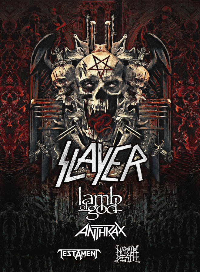 Slayer LoG Anthrax Testament NapalmDeath - Interview - Charlie Benante of Anthrax