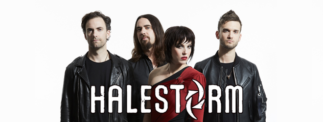 halestorm 2018 interview slide - Interview - Lzzy Hale & Joe Hottinger of Halestorm Talk Vicious