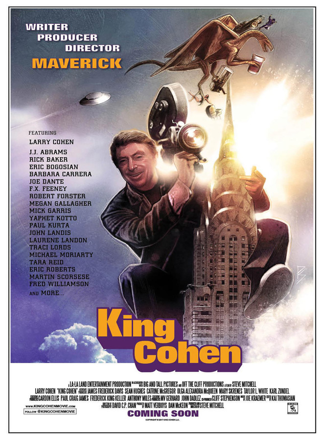 king cohen poster - King Cohen (Documentary Review)