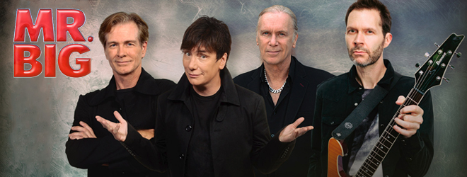 mr big promo - Interview - Eric Martin of Mr. Big