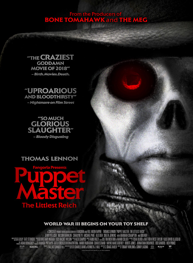 PUPPETMASTER Poster image 2764X4096 - Puppet Master: The Littlest Reich (Movie Review)