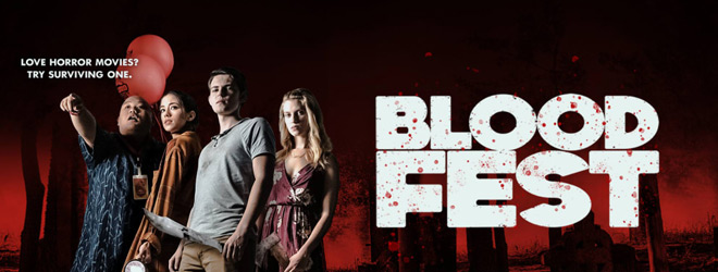 blood fest banner - Blood Fest (Movie Review)