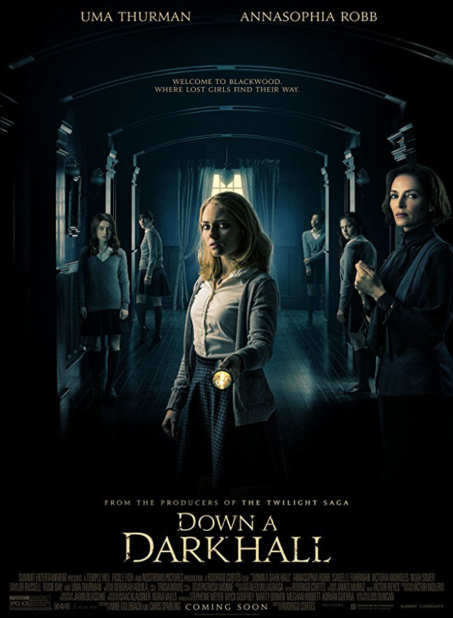 down a dark poster - Down a Dark Hall (Movie Review)