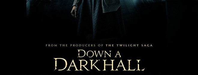 down a dark slide - Down a Dark Hall (Movie Review)