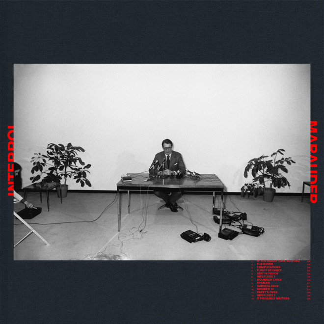 interpol marauder album artwork - Interpol - Marauder (Album Review)