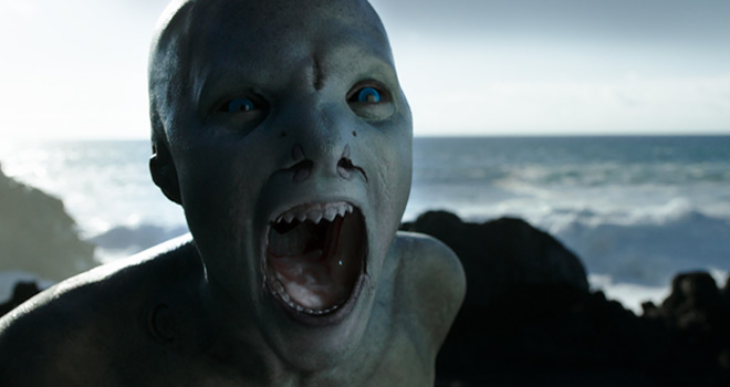 Cold Skin Creature Xavier Gens Still - Cold Skin (Movie Review)
