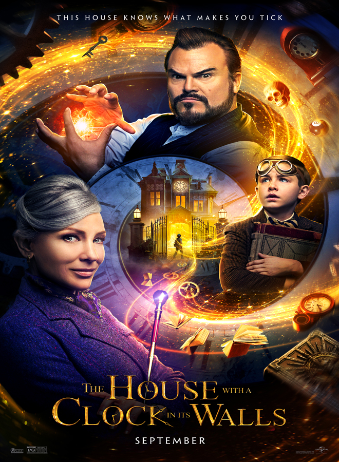 HCW Advance1Sheet 0621 RGB 1 - The House with a Clock in Its Walls (Movie Review)