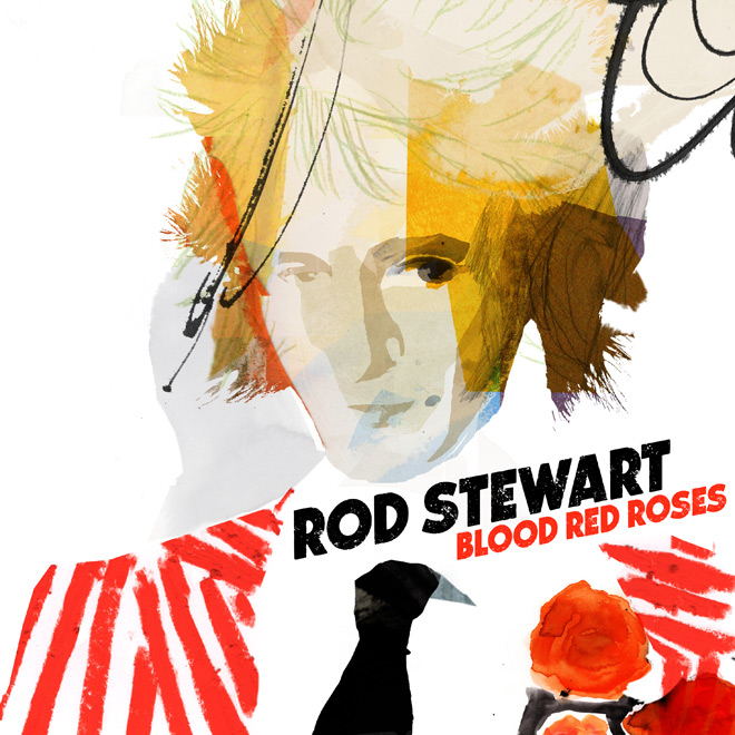 RS BRR Standard - Rod Stewart - Blood Red Roses (Album Review)