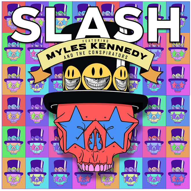 Slash LTD Cover - Slash featuring Myles Kennedy and The Conspirators - Living the Dream (Album Review)