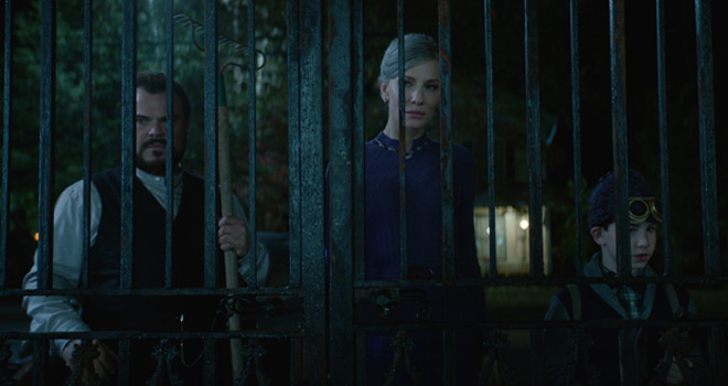 house 1 - The House with a Clock in Its Walls (Movie Review)